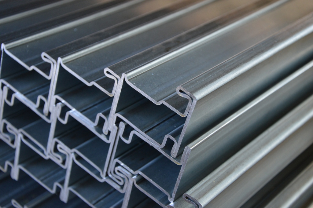 Steel Profile System For The Production Of Doors And