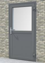 Doors for multy-family buildings witha a thermal seperator