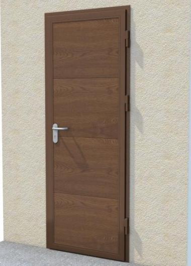 Garage profile door